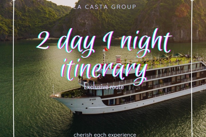 2 DAY 1 NIGHT ITINERARY - LAN HA BAY - EXCLUSIVE ROUTE